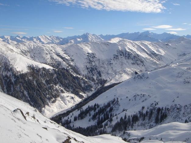 Foto: Manfred Karl / Ski Tour / Aus dem Windautal auf das Gerstinger Joch / Glockner- und Venedigergruppe / 18.12.2008 10:46:13