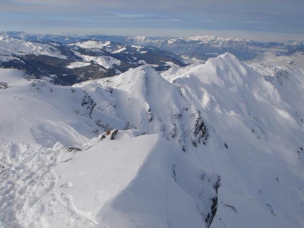 Foto: Manfred Karl / Ski Tour / Aus dem Windautal auf das Gerstinger Joch / 18.12.2008 10:42:54