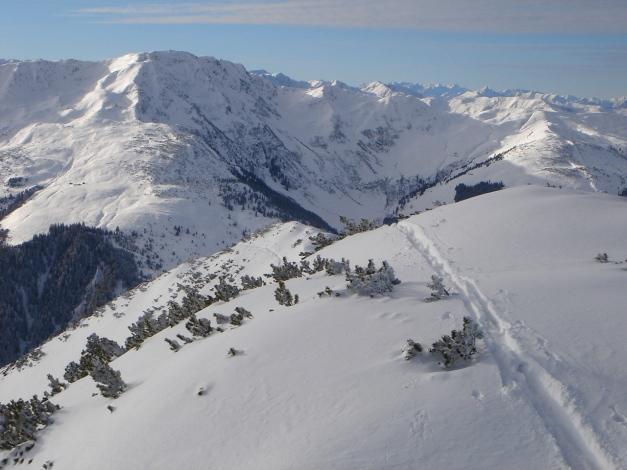 Foto: Manfred Karl / Ski Tour / Aus dem Windautal auf das Gerstinger Joch / 18.12.2008 10:42:38