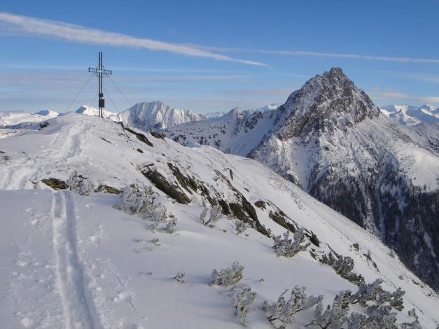 Foto: Manfred Karl / Ski Tour / Aus dem Windautal auf das Gerstinger Joch / Gerstinger Joch und Großer Rettenstein / 18.12.2008 10:40:21