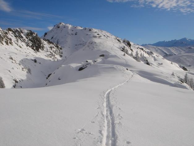 Foto: Manfred Karl / Ski Tour / Aus dem Windautal auf das Gerstinger Joch / Am Verbindungsrücken / 18.12.2008 10:38:51