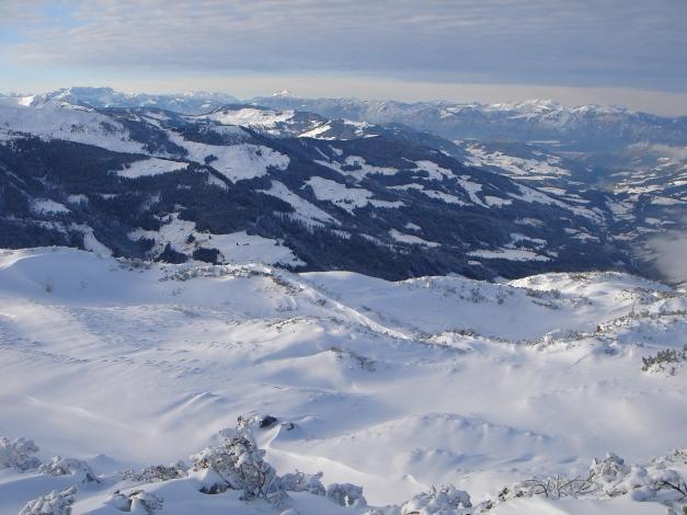 Foto: Manfred Karl / Ski Tour / Aus dem Windautal auf das Gerstinger Joch / Die welligen Hänge unter dem Vorgipfel / 18.12.2008 10:37:30
