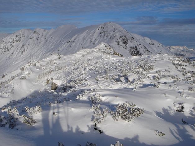 Foto: Manfred Karl / Ski Tour / Aus dem Windautal auf das Gerstinger Joch / Blick zum Floch / 18.12.2008 10:36:52