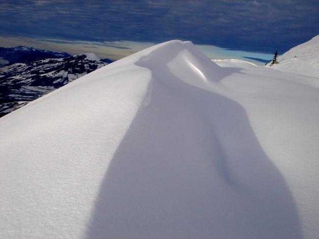 Foto: Manfred Karl / Ski Tour / Aus dem Windautal auf das Gerstinger Joch / Lichtspiele / 18.12.2008 10:33:55