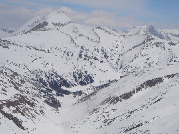 Foto: Manfred Karl / Ski Tour / Über das Kreekar auf das Schöderhorn / Blick zum Weißeck / 18.12.2008 11:24:05