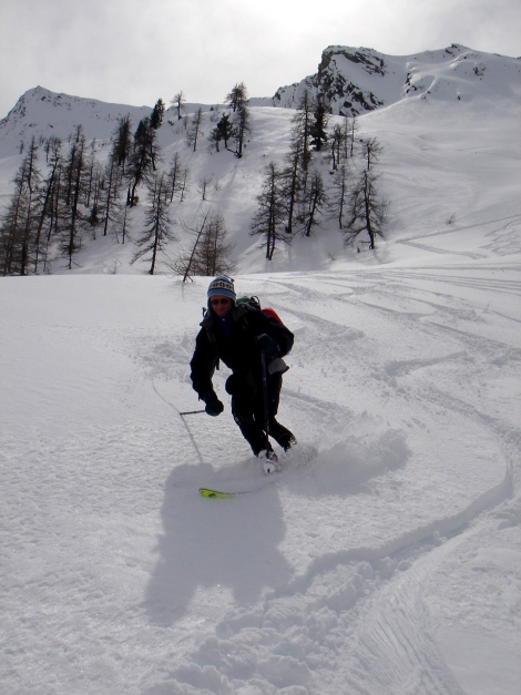 Foto: Manfred Karl / Ski Tour / Über das Kreekar auf das Schöderhorn / 18.12.2008 11:22:22