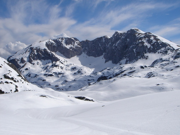 Foto: Manfred Karl / Ski Tour / Über die Laufener Hütte auf den Bleikogel / 18.12.2008 12:19:27