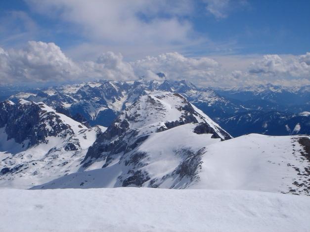 Foto: Manfred Karl / Ski Tour / Über die Laufener Hütte auf den Bleikogel / Hochkarfelderkopf - Fritzerkogel / 18.12.2008 12:18:40