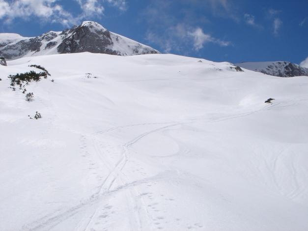 Foto: Manfred Karl / Ski Tour / Über die Laufener Hütte auf den Bleikogel / 18.12.2008 12:13:24
