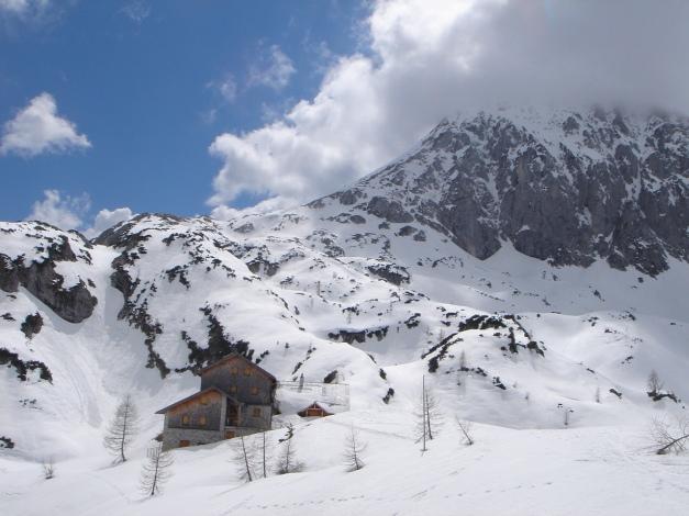 Foto: Manfred Karl / Ski Tour / Über die Laufener Hütte auf den Bleikogel / Laufener Hütte / 18.12.2008 12:12:38