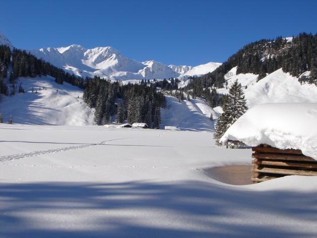 Foto: Manfred Karl / Ski Tour / Drei leichte Schigipfel über der Schwarzwasserhütte / Melköde / 18.12.2008 17:07:14