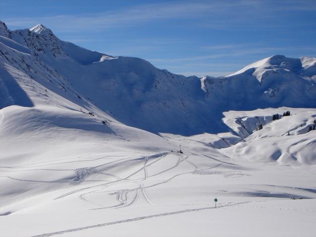 Foto: Manfred Karl / Ski Tour / Drei leichte Schigipfel über der Schwarzwasserhütte / Gerachsattel / 18.12.2008 17:01:50