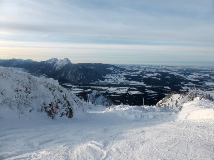 Foto: Manfred Karl / Skitour / Auf einen Hausberg der Salzburger Tourengeher / Links der Hochstaufen / 18.03.2015 20:47:10