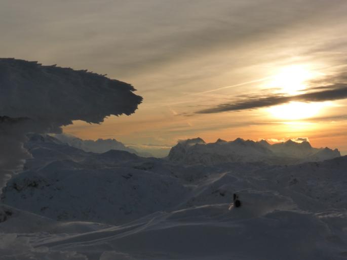 Foto: Manfred Karl / Skitour / Auf einen Hausberg der Salzburger Tourengeher / 18.03.2015 20:46:35