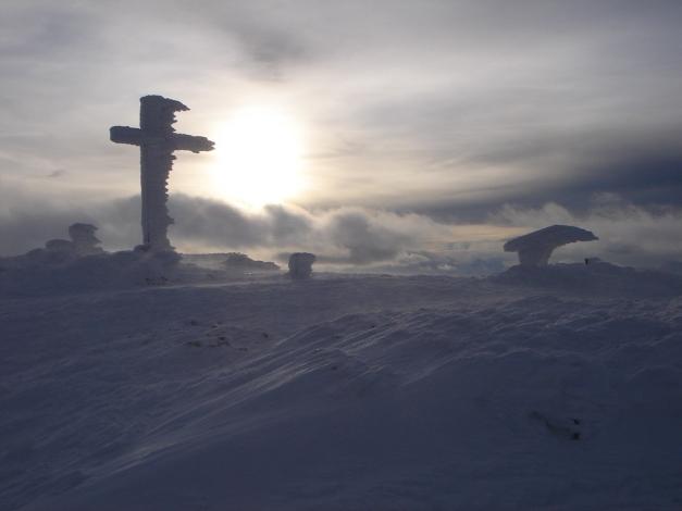 Foto: Manfred Karl / Skitour / Auf einen Hausberg der Salzburger Tourengeher / Vom Winde verweht / 18.12.2008 17:49:27