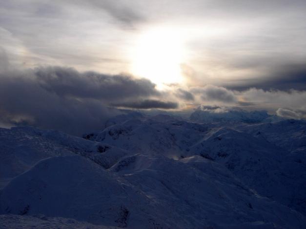 Foto: Manfred Karl / Skitour / Auf einen Hausberg der Salzburger Tourengeher / Arktische Stimmung am Hochthron / 18.12.2008 17:48:35