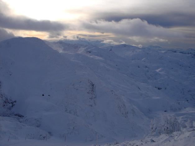 Foto: Manfred Karl / Skitour / Auf einen Hausberg der Salzburger Tourengeher / Untersberghochfläche / 18.12.2008 17:47:45