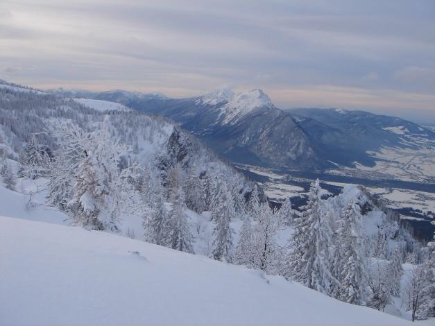 Foto: Manfred Karl / Skitour / Auf einen Hausberg der Salzburger Tourengeher / Hochstaufen / 18.12.2008 17:47:07