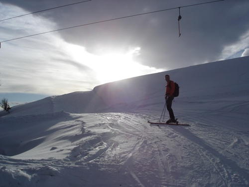 Foto: hofchri / Ski Tour / Wieserhörndl (1567m) von Hintersee über Anzenbergalm / 18.12.2008 17:52:54