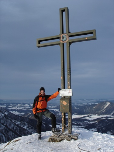 Foto: hofchri / Ski Tour / Wieserhörndl (1567m) von Hintersee über Anzenbergalm / 18.12.2008 17:53:04
