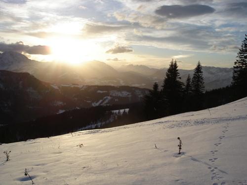 Foto: hofchri / Ski Tour / Wieserhörndl (1567m) von Hintersee über Anzenbergalm / 18.12.2008 17:53:12