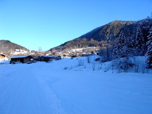 Foto: Manfred Karl / Ski Tour / Von Oberau auf das Roßfeld / Ausgangspunkt Oberau / 18.12.2008 18:09:17