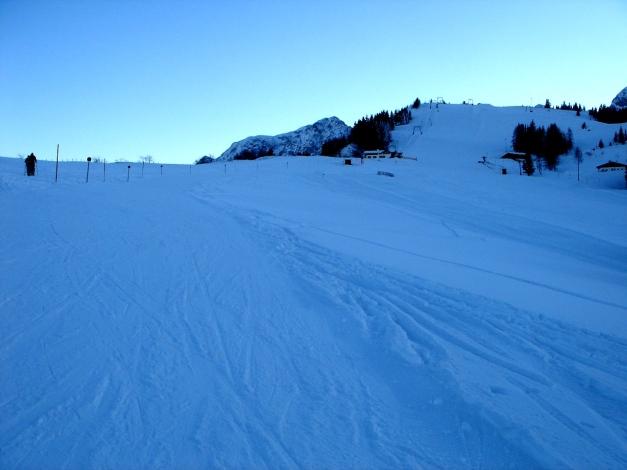 Foto: Manfred Karl / Ski Tour / Von Oberau auf das Roßfeld / Gipfelhang Roßfeld / 18.12.2008 18:04:37