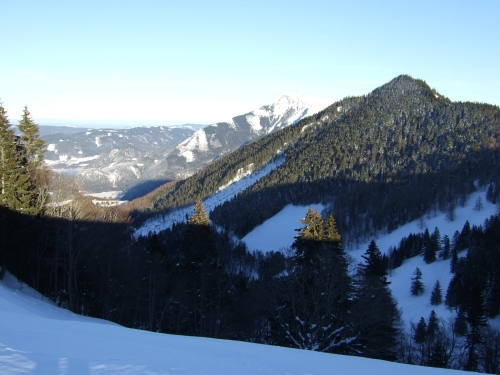 Foto: hofchri / Ski Tour / Pillsteinhöhe (1.478 m) von Tiefbrunnau über Mehlsackalm / 18.12.2008 18:28:11