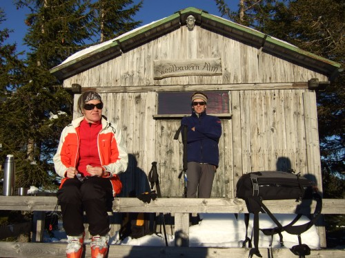 Foto: hofchri / Ski Tour / Pillsteinhöhe (1.478 m) von Tiefbrunnau über Mehlsackalm / 18.12.2008 18:31:42