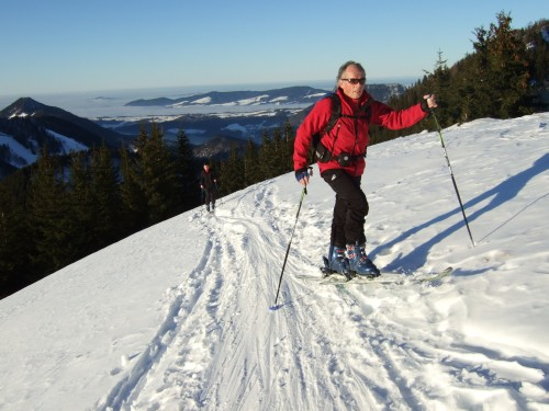 Foto: hofchri / Ski Tour / Pillsteinhöhe (1.478 m) von Tiefbrunnau über Mehlsackalm / 18.12.2008 18:31:51