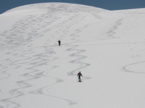 Foto: hofchri / Ski Tour / Hocheiser (3206 m) vom Enzingerboden via Rötenkogel / 19.12.2008 22:23:01