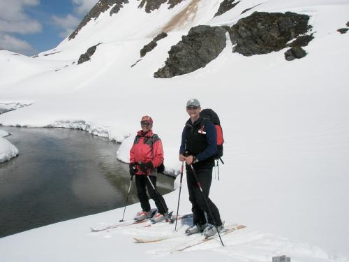 Foto: hofchri / Ski Tour / Hocheiser (3206 m) vom Enzingerboden via Rötenkogel / 19.12.2008 22:23:12