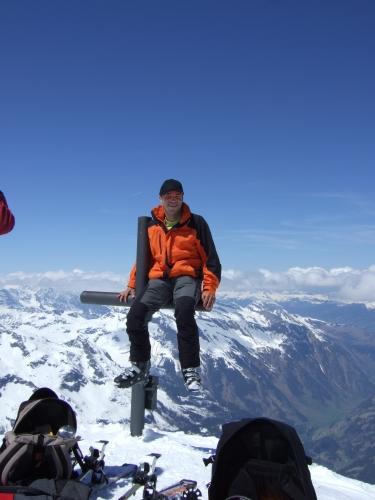 Foto: hofchri / Ski Tour / Hocheiser (3206 m) vom Enzingerboden via Rötenkogel / 19.12.2008 22:22:43