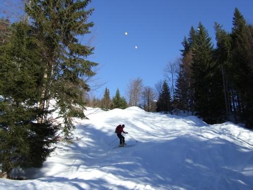 Foto: hofchri / Ski Tour / Hoher First (1718m) von Lämmerbach über Genneralm / 10.02.2009 15:09:09