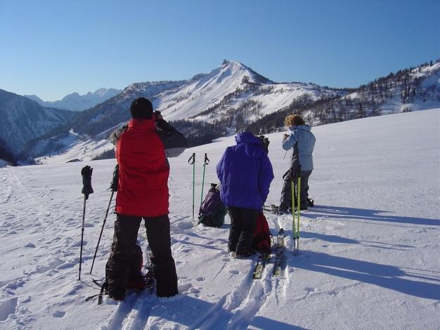 Foto: Manfred Karl / Ski Tour / Hoher First und Dürlstein aus dem Ackersbachgrund / Genneralm / 20.12.2008 12:44:56