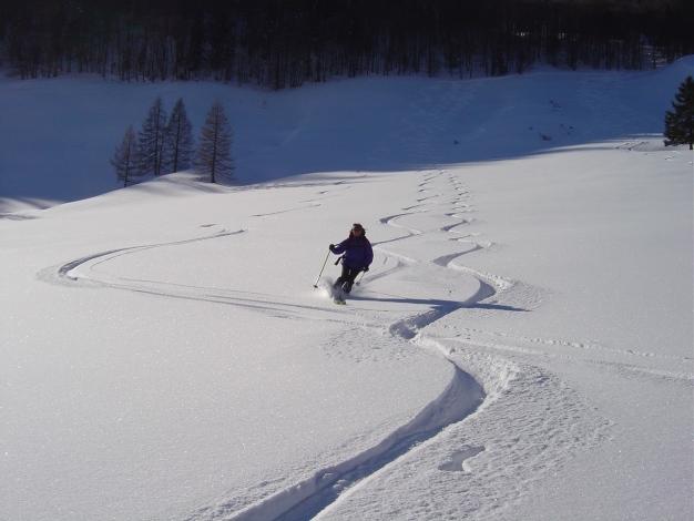 Foto: Manfred Karl / Ski Tour / Hoher First und Dürlstein aus dem Ackersbachgrund / So passt der Schnee! / 20.12.2008 12:39:31