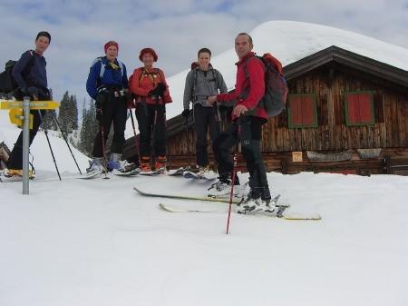 Foto: hofchri / Ski Tour / Klingspitz (1988m) von Hirschegg über Marbachhöhe / 20.12.2008 13:46:15