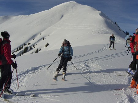 Foto: hofchri / Ski Tour / Klingspitz (1988m) von Hirschegg über Marbachhöhe / 20.12.2008 13:47:00