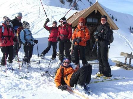 Foto: hofchri / Ski Tour / Klingspitz (1988m) von Hirschegg über Marbachhöhe / 20.12.2008 13:47:06