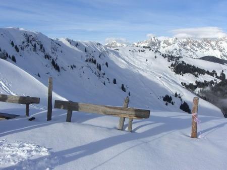 Foto: hofchri / Ski Tour / Klingspitz (1988m) von Hirschegg über Marbachhöhe / 20.12.2008 13:47:13
