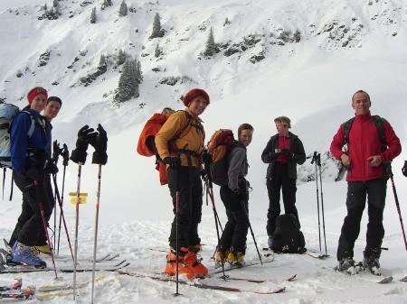 Foto: hofchri / Ski Tour / Klingspitz (1988m) von Hirschegg über Marbachhöhe / 20.12.2008 13:46:21