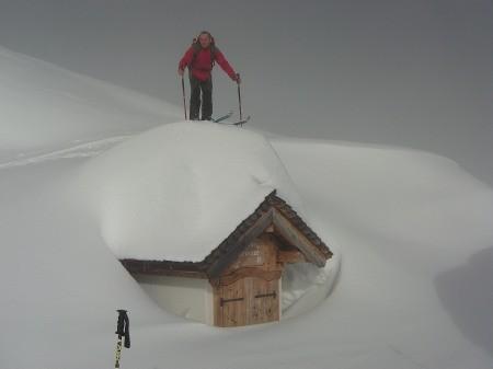 Foto: hofchri / Ski Tour / Klingspitz (1988m) von Hirschegg über Marbachhöhe / 20.12.2008 13:46:26