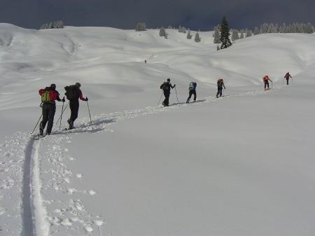 Foto: hofchri / Ski Tour / Klingspitz (1988m) von Hirschegg über Marbachhöhe / 20.12.2008 13:46:31
