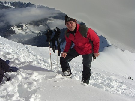 Foto: hofchri / Ski Tour / Klingspitz (1988m) von Hirschegg über Marbachhöhe / 20.12.2008 13:46:46