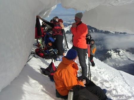 Foto: hofchri / Ski Tour / Klingspitz (1988m) von Hirschegg über Marbachhöhe / 20.12.2008 13:46:50