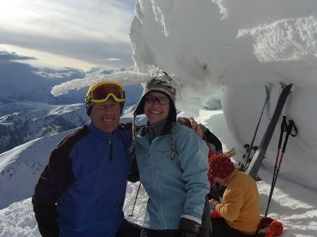 Foto: hofchri / Ski Tour / Klingspitz (1988m) von Hirschegg über Marbachhöhe / 20.12.2008 13:46:55