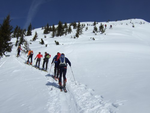Foto: hofchri / Ski Tour / Sonntagshorn (1961m) und Peitingköpfl (1720m) vom Angertal / 20.12.2008 15:11:32