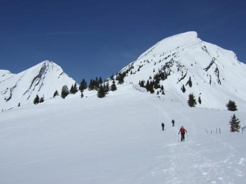 Foto: hofchri / Ski Tour / Sonntagshorn (1961m) und Peitingköpfl (1720m) vom Angertal / 20.12.2008 15:12:16