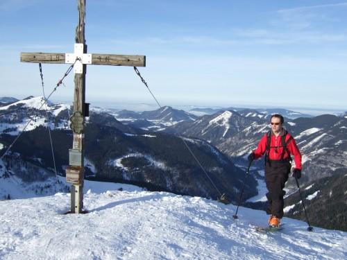 Foto: hofchri / Ski Tour / Regenspitz (1675 m) und Bergköpfel (1480 m) von Hintersee / 10.02.2009 15:09:09