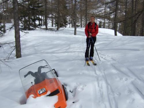 Foto: hofchri / Ski Tour / Pitschenberg (1720m) und Labenberg (1642m) von der Postalm / 21.12.2008 13:32:11